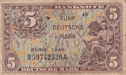 Image #1 of 5 Deutsche Mark 1948