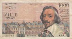 Imaginea #1 a 1000 Franci 1954 (2. XII.)