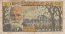 Image #2 of 5 Nouveaux Francs on 500 Francs 1959 (12. II.)
