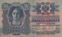 Image #1 of 20 Kronen 1913 (2. I.) - II. Auflage
