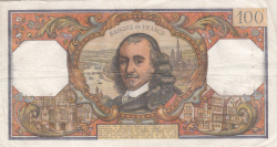 Image #2 of 100 Francs 1965 (1. VII.)