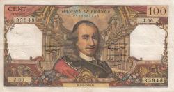 Image #1 of 100 Francs 1965 (4. II.)