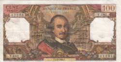 Image #1 of 100 Francs 1966 (1. IX.)