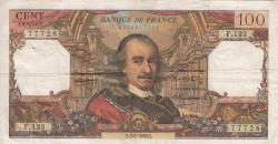 Image #1 of 100 Francs 1966 (3. II.)