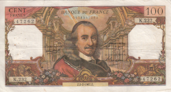 Image #1 of 100 Francs 1967 (2. II.)