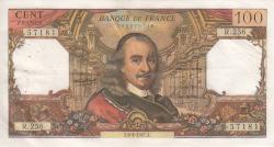 Image #1 of 100 Francs 1967 (6. IV.)
