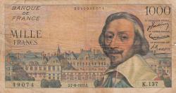 Imaginea #1 a 1000 Franci 1955 (7. IV.)