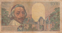 1,000 Francs 1955 (7. IV.)