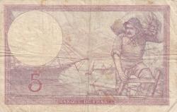 Imaginea #2 a 5 Franci 1940 (5. XII.)