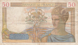 Image #2 of 50 Francs 1937 (26. VIII.)