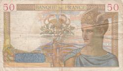 Imaginea #2 a 50 Franci 1937 (26. VIII.)