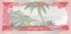 Image #2 of 1 Dollar ND (1988-1989)
