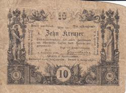 Image #1 of 10 Kreuzer 1860 (1. XI.)