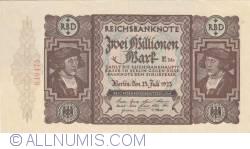 Image #1 of 2 Millionen (2 000 000) Mark 1923 (23. VII.)