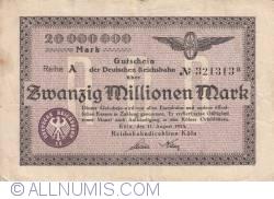 Image #1 of 20 000 000 Mark 1923 (11. VIII.)