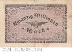 Image #2 of 20 000 000 Mark 1923 (11. VIII.)