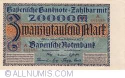 Imaginea #1 a 20 000 Mark 1923 (1. III.)
