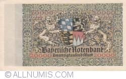 Imaginea #2 a 20 000 Mark 1923 (1. III.)