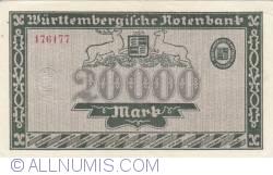 Image #2 of 20 000 Mark 1923 (15. VI.)