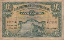 Image #1 of 1 Pound 1938 (1. VI.)