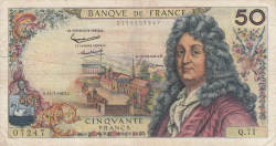 Image #1 of 50 Francs 1963 (11. VII.)