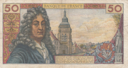 Image #2 of 50 Francs 1963 (11. VII.)