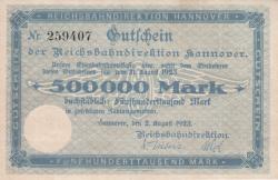 Image #1 of 500,000 Mark 1923 (2. VIII.)