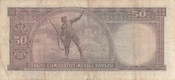 Image #2 of 50 Lira L.1970 (2. 8. 1971)