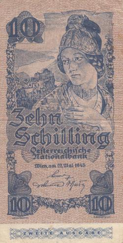 Image #1 of 10 Schilling 1945 (29. V.)