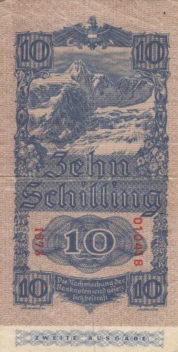 Image #2 of 10 Schilling 1945 (29. V.)