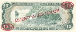 Imaginea #2 a 10 Pesos Oro 1987 - SPECIMEN
