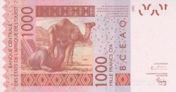 Image #2 of 1000 Francs (20)04