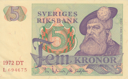 Image #1 of 5 Kronor 1972