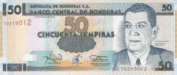 Imaginea #1 a 50 Lempiras 1994 (12. V.)