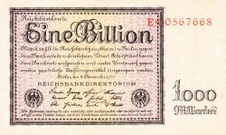 Image #1 of 1 Billion (1 000 000 000 000) Mark 1923 (5. XI.)