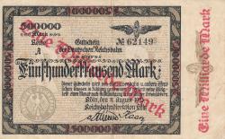 Image #1 of 1 Milliarde (1 000 000 000) Mark ND (1923)