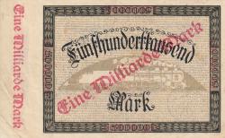 Image #2 of 1 Milliarde (1 000 000 000) Mark ND (1923)
