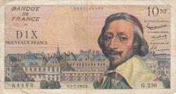 10 Nouveaux Francs 1962 (5. VII.)