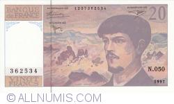 20 Francs 1997