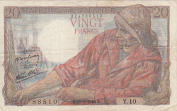 Image #1 of 20 Francs 1942 (12. II.)