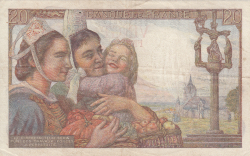 Image #2 of 20 Francs 1942 (12. II.)