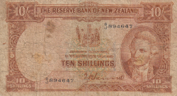 Image #1 of 10 Shillings ND (1940-1955)