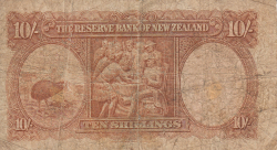 Image #2 of 10 Shillings ND (1940-1955)