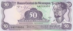 Image #1 of 50 Cordobas L.1984 (1985)