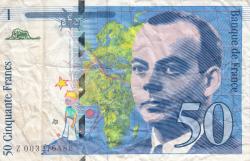 Image #1 of 50 Francs 1992
