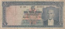 Image #1 of 5 Lira L.1930 (25. X. 1961)