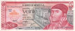 Image #1 of 20 Pesos 1976 (8. VII.) - Serie CN