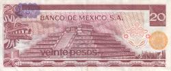 Image #2 of 20 Pesos 1976 (8. VII.) - Serie CN