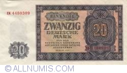 Image #1 of 20 Deutsche Mark 1955