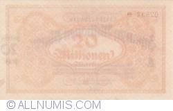 Image #2 of 20 Millionen (20 000 000) Mark 1923 (20. VIII.)